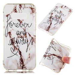 Forever Soft TPU Marble Pattern Phone Case for Samsung Galaxy S10e(5.8 inch)