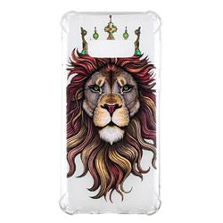 Lion King Anti-fall Clear Varnish Soft TPU Back Cover for Samsung Galaxy S10 Lite(5.8 inch)