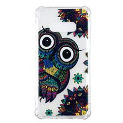 Owl Totem Anti-fall Clear Varnish Soft TPU Back Cover for Samsung Galaxy S10e(5.8 inch)