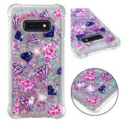 Diamond Dynamic Liquid Glitter Sand Quicksand Star TPU Case for Samsung Galaxy S10e (5.8 inch)