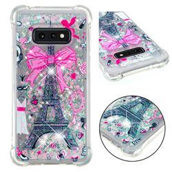 Mirror and Tower Dynamic Liquid Glitter Sand Quicksand Star TPU Case for Samsung Galaxy S10e (5.8 inch)