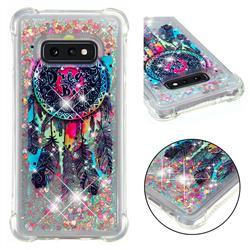 Seal Wind Chimes Dynamic Liquid Glitter Sand Quicksand Star TPU Case for Samsung Galaxy S10e (5.8 inch)
