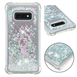 Dynamic Liquid Glitter Sand Quicksand Star TPU Case for Samsung Galaxy S10e (5.8 inch) - Pink