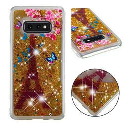 Golden Tower Dynamic Liquid Glitter Quicksand Soft TPU Case for Samsung Galaxy S10e (5.8 inch)
