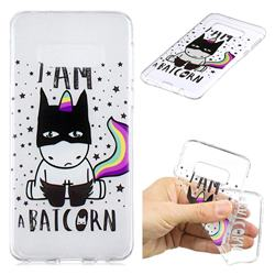 Batman Clear Varnish Soft Phone Back Cover for Samsung Galaxy S10e (5.8 inch)