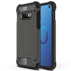 King Kong Armor Premium Shockproof Dual Layer Rugged Hard Cover for Samsung Galaxy S10e (5.8 inch) - Bronze