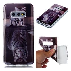 Cat and Tiger Soft TPU Cell Phone Back Cover for Samsung Galaxy S10e (5.8 inch)