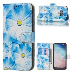 Orchid Flower PU Leather Wallet Case for Samsung Galaxy S10e (5.8 inch)