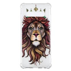 Lion King Anti-fall Clear Varnish Soft TPU Back Cover for Samsung Galaxy S10 Plus(6.4 inch)