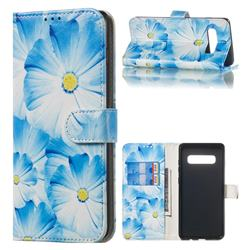Orchid Flower PU Leather Wallet Case for Samsung Galaxy S10 Plus(6.4 inch)