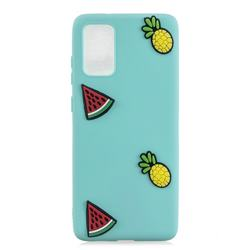 Watermelon Pineapple Soft 3D Silicone Case for Samsung Galaxy S20 Plus / S11