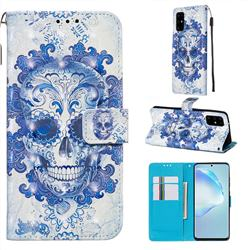 Cloud Kito 3D Painted Leather Wallet Case for Samsung Galaxy S20 Plus / S11