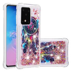 Seal Wind Chimes Dynamic Liquid Glitter Sand Quicksand Star TPU Case for Samsung Galaxy S20 Ultra / S11 Plus