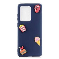 I Love Hamburger Soft 3D Silicone Case for Samsung Galaxy S20 Ultra / S11 Plus