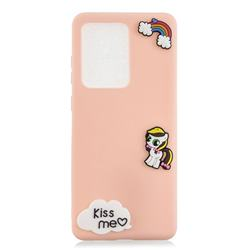 Kiss me Pony Soft 3D Silicone Case for Samsung Galaxy S20 Ultra / S11 Plus