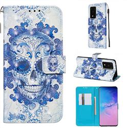 Cloud Kito 3D Painted Leather Wallet Case for Samsung Galaxy S20 Ultra / S11 Plus