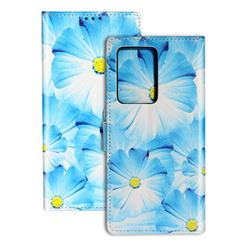 Orchid Flower PU Leather Wallet Case for Samsung Galaxy S20 Ultra / S11 Plus