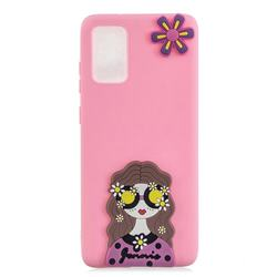 Violet Girl Soft 3D Silicone Case for Samsung Galaxy S20 / S11e