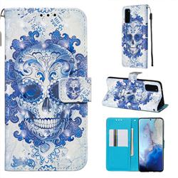 Cloud Kito 3D Painted Leather Wallet Case for Samsung Galaxy S20 / S11e