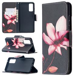 Lotus Flower Leather Wallet Case for Samsung Galaxy S20 FE / S20 Lite