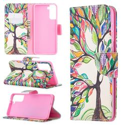 The Tree of Life Leather Wallet Case for Samsung Galaxy S21 Plus