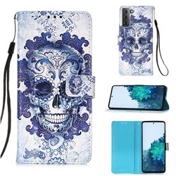 Cloud Kito 3D Painted Leather Wallet Case for Samsung Galaxy S21 Plus