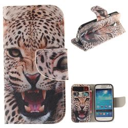 Puma PU Leather Wallet Case for Samsung Galaxy S4 Mini i9190