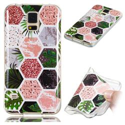 Rainforest Soft TPU Marble Pattern Phone Case for Samsung Galaxy S5 G900