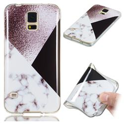 Black white Grey Soft TPU Marble Pattern Phone Case for Samsung Galaxy S5 G900