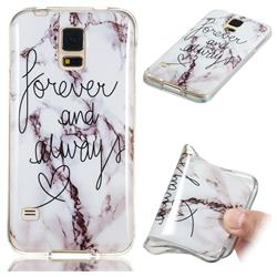 Forever Soft TPU Marble Pattern Phone Case for Samsung Galaxy S5 G900