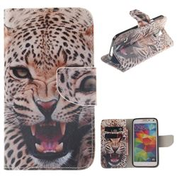 Puma PU Leather Wallet Case for Samsung Galaxy S5 G900