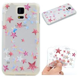 Pentagram Super Clear Soft TPU Back Cover for Samsung Galaxy S5 Mini G800