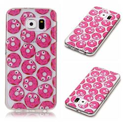 Eye Donuts Super Clear Soft TPU Back Cover for Samsung Galaxy S6 G920