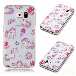Unicorn Super Clear Soft TPU Back Cover for Samsung Galaxy S6 G920