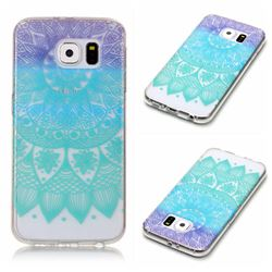Mandala Wind Chimes Super Clear Soft TPU Back Cover for Samsung Galaxy S6 G920