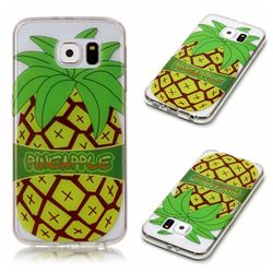 Big Pineapple Super Clear Soft TPU Back Cover for Samsung Galaxy S6 G920