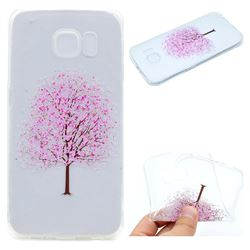 Petals Tree Super Clear Soft TPU Back Cover for Samsung Galaxy S6 G920