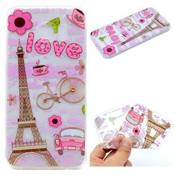 Love Eiffel Tower Super Clear Soft TPU Back Cover for Samsung Galaxy S6 G920