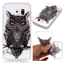 Staring Owl Super Clear Soft TPU Back Cover for Samsung Galaxy S6 G920
