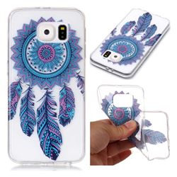 Blue Wind Chimes Super Clear Soft TPU Back Cover for Samsung Galaxy S6 G920