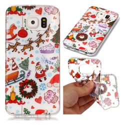 Christmas Playground Super Clear Soft TPU Back Cover for Samsung Galaxy S6 G920