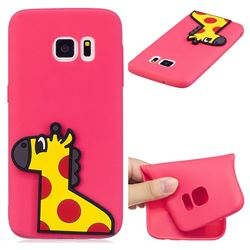 Yellow Giraffe Soft 3D Silicone Case for Samsung Galaxy S6 G920