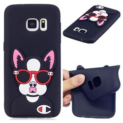 Glasses Gog Soft 3D Silicone Case for Samsung Galaxy S6 G920
