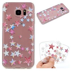Pentagram Super Clear Soft TPU Back Cover for Samsung Galaxy S6 Edge G925