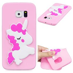 Pony Soft 3D Silicone Case for Samsung Galaxy S6 Edge G925