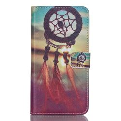 Sunset Dream Catcher Leather Wallet Case for Samsung Galaxy S6 Edge Plus G928 G928P G928A