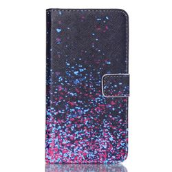 Sky Fireworks Leather Wallet Case for Samsung Galaxy S6 Edge Plus G928 G928P G928A