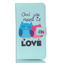 Owl Lover Leather Wallet Case for Samsung Galaxy S6 Edge Plus G928 G928P G928A