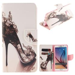 High Heels PU Leather Wallet Case for Samsung Galaxy S6 Edge Plus Edge+ G928