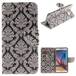 Totem Flowers PU Leather Wallet Case for Samsung Galaxy S6 Edge Plus Edge+ G928